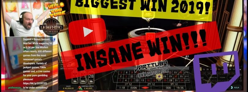 INSANE WIN!! Lightning Roulette hits BIG TIME!!