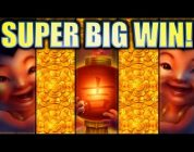 ★SUPER BIG WIN! FULL SCREEN OMG BABIES!★ FU DAO LE Slot Machine Bonus (SG)