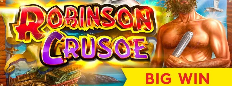 MAJOR PROGRESSIVE! Cash Odyssey Robinson Crusoe Slot — Big Win Session!