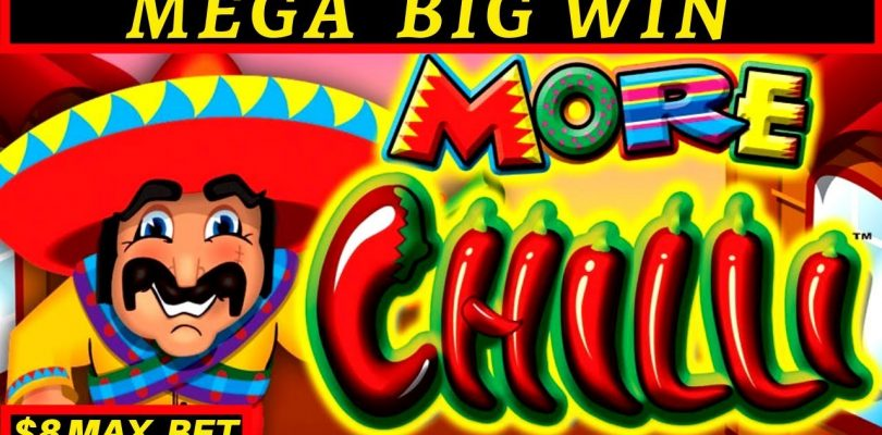 More More Chilli Slot Machine — MEGA BIG WIN | Buffalo Max Slot BONUS |Lightning Link Tiki Fire Slot