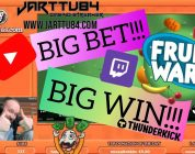 Big Bet!! Big Win From Fruit Warp!!