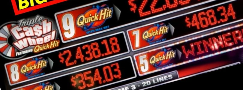 ✦BIG WIN✦ Quick Hits Cash Wheel Slot Machine MAX BET Bonuses | Live Slot Play w/NG Slot