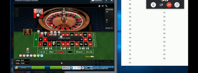 SBANG Roulette: Sessione Skype del 28 Gennaio 2019