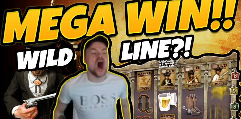 MEGA WIN!!! DEAD OR ALIVE BIG WIN!!! WILDLINE !?!? Gambling form CasinoDaddy