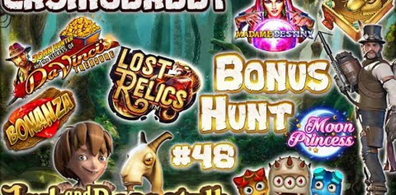 BIG WIN!!! CasinoDaddy Bonus Hunt — Bonus Compilation — Bonus Round episode #48