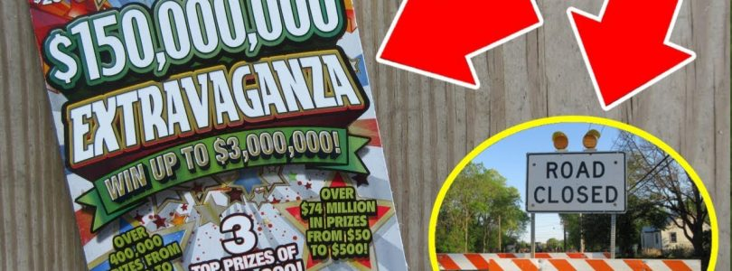 UNREAL!!..When Taking A Detour Leads You To a BIG WIN On A Lottery Ticket!!