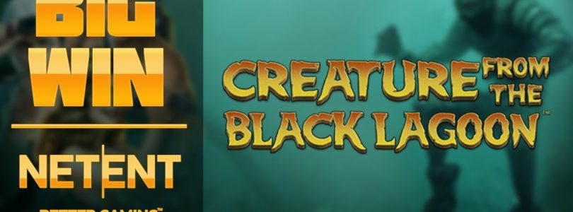 Big win in the game slot Creation from the black lagoon | NetEnt