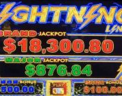 Happy Lantern Lightning Link BIG WIN — 4 Wild Reels In Bonus !