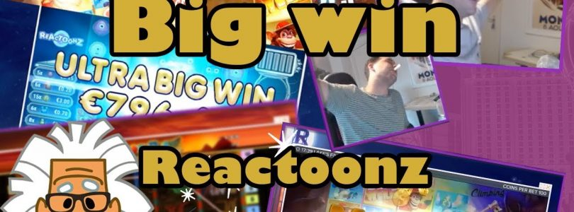 Big win on Slot Reactoonz from Play'n GO