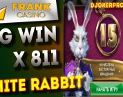 Казино онлайн Frank , DjokerPro стрим казино , White Rabbit slot Big Win