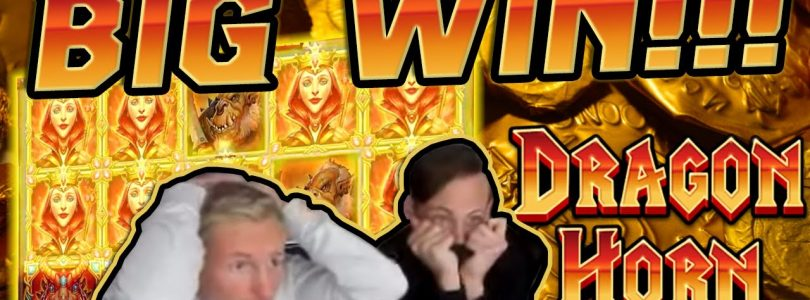 Dragon Horn BIG WIN €5 bet!! Online Casino Games from CasinoDaddy