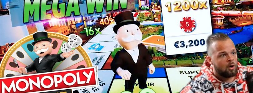 Monopoly live Big Win 30.000€  — Top 5 Biggest Wins of the May