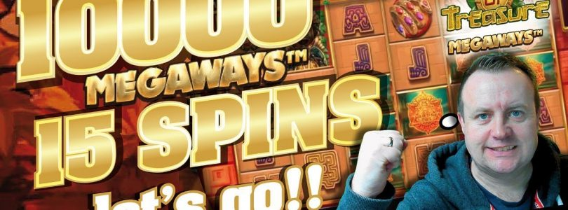 Online Slots — Temple Of Treasure MASSIVE WIN !!!