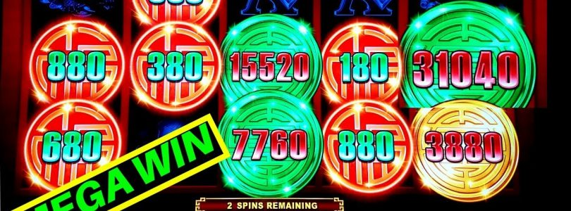 NEW!! Rising Fortunes Slot HUGE WIN w/$8.80 Max Bet | Never Seen Hot Machine Like This |MEGA BIG WIN