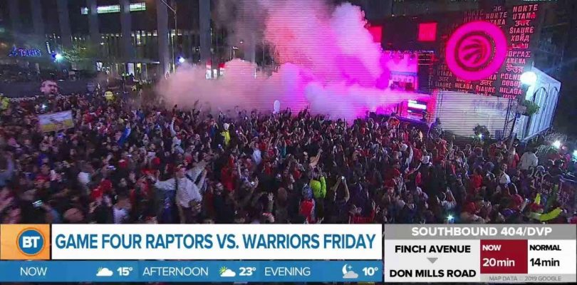 A big win for the Raptors in Game 3 of the NBA Finals