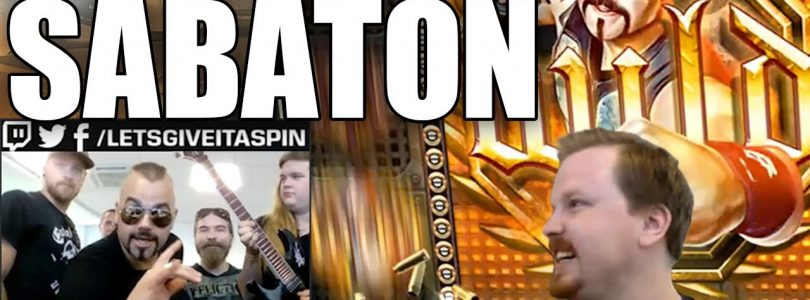Winning on Sabaton slot with Sabaton (THE BAND!!) joining my Stream