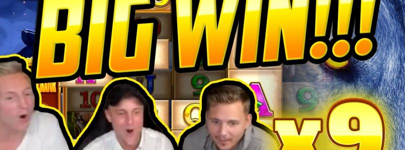 MEGA WIN! Wolf Legend Megaways BIG WIN — Huge Win on Casino slot from CasinoDaddy