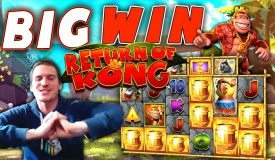 BIG WIN on Return of Kong Megaways — £5 Bet