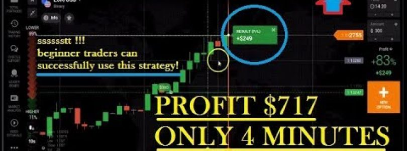this video can cause a big win in trading — iq option strategy