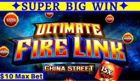 ✦FANTASTIC SESSION✦!! Ultimate Fire Link Slot Machine ✦HUGE WIN✦ $10 Max Bet & Double Minor JACKPOT