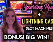 BIG WIN!! Lightning CASH Slot Machine!!