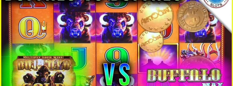NEW BUFFALO GOLD 3 REEL! vs Buffalo Max Slot! SUPER BIG WIN!