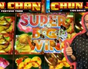 BIG WIN❗ ⭐JIN CHAN FORTUNE TOAD⭐ LIVE PLAY ⭐CHUN JIE LION DANCE⭐ FREE SPINS