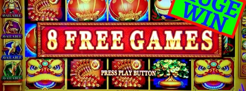 Triple Festival Slot Machine HUGE WIN $8.80 Max Bet Bonus + My 60,000 Subscribers Video TRAILER
