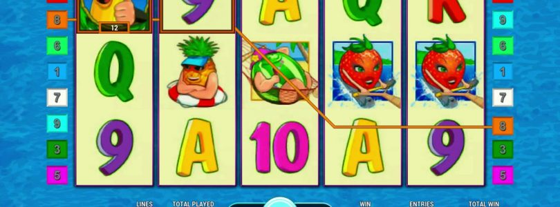 Bananas go Bahamas Online Casino Slot Machine