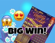 BIG WIN! $10 Willy Wonka Golden Ticket Texas Lottery Scratch Off Ticket