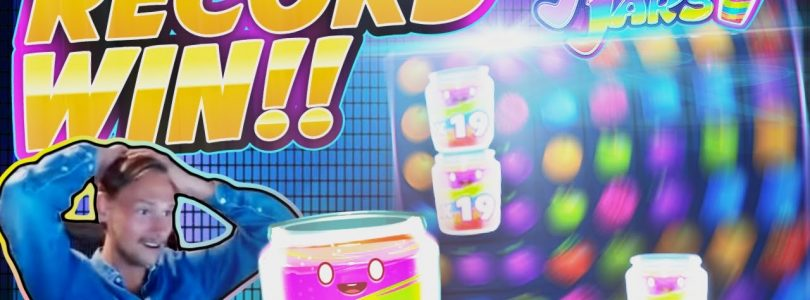 RECORD WIN!! Jammin Jars BIG WIN — MASSIVE WIN on Online Slot from Casinodady