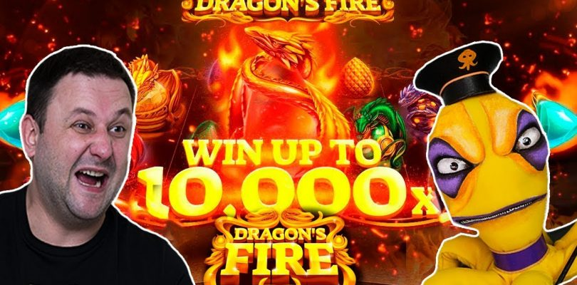 БЕЗ БОНУСА В  ДРАКОНАХ! l Dragon's Fire от Red Tiger в онлайн казино Play Fortuna I Nazar Casino