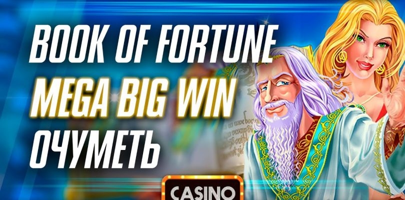 Slot Machine Book of Fortune. Casino. Amatic. Mega Big Win