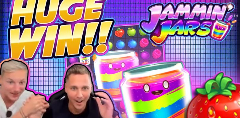 HUGE WIN!!! Jammin Jars BIG WIN!! Casino Games from CasinoDaddy Live Stream