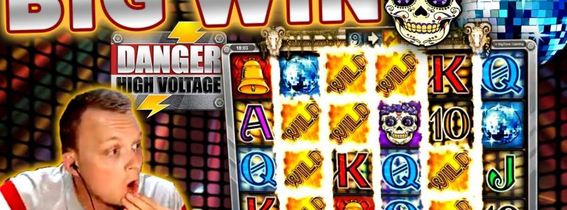 MEGA BIG WIN on Danger High Voltage — Gates of Hell Feature!!