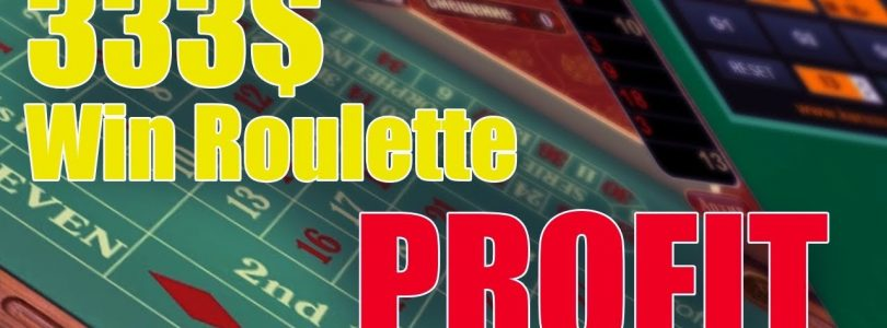 Profit Casino win European Roulette — PART 2