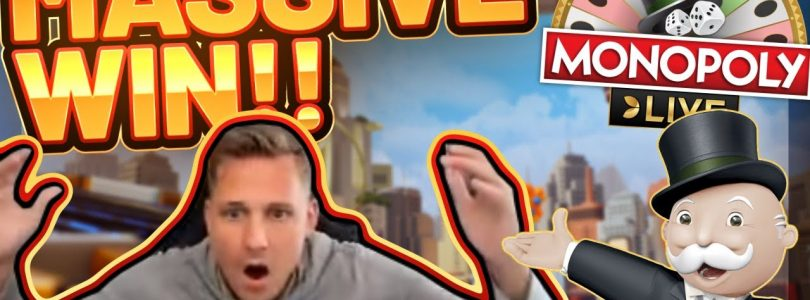 MASSIVE WIN!!! Monopoly LIVE BIG WIN — CasinoDaddy HUGE WIN on Casino Game