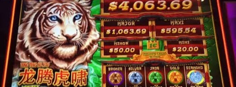 BIG WIN★Long Teng Hu XIAO (MIGHTY CASH) New Slot machine First Attempt, San Manuel, Akafujislot