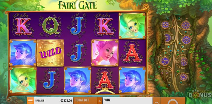 Fairy Gate Slot -BIG WIN & Game Play — by Quickspin