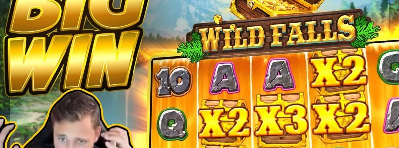 BIG WIN!!! Wild Falls BIG WIN!! Casino Slot from CasinoDaddy Live Stream