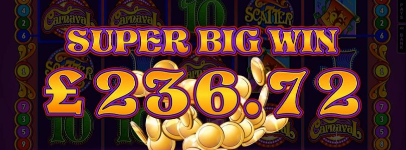 Carnaval Online Slot Promo Video [Crazy Vegas Casino]