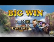 BIG WIN ON WILD RAILS (PLAY'N GO) — 3€ BET!