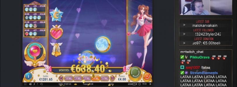 Big win ★ Moon Princess ★ Video muted 15 sec from the beginning