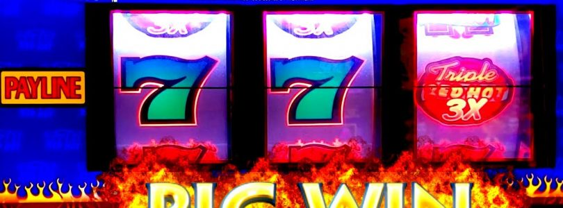 TRIPLE DOUBLE Sevens 3 Reel High Limit Slot Machine BIG WIN | RED Fortune Slot High Limit