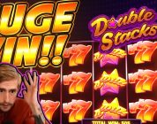 HUGE WIN!! Double Stacks BIG WIN!! Online Slot from CasinoDaddy Live Stream