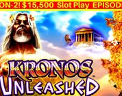 Kronos Unleashed Slot Machine $6 Max Bet BIG WIN | Lightning Respins  | Season 2 EPISODE #23