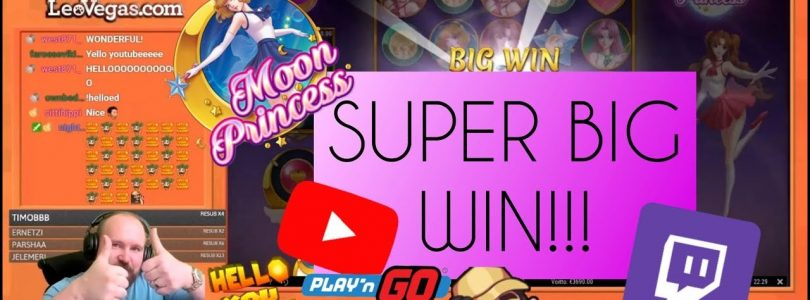 Super Big Win From Moon Princess Slot!!