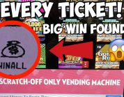 I BOUGHT EVERY TICKET IN THE LOTTERY MACHINE!!! | Big Win! | $303 in Florida Lottery Tickets!