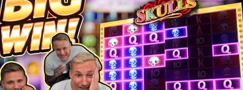 BIG WIN!!! Skulls BIG WIN!! Casino Games from CasinoDaddy Live Stream