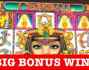 BIG WIN BONUS + LIVE PLAY!!! CLEOPATRA 2 SLOT MACHINE!!!